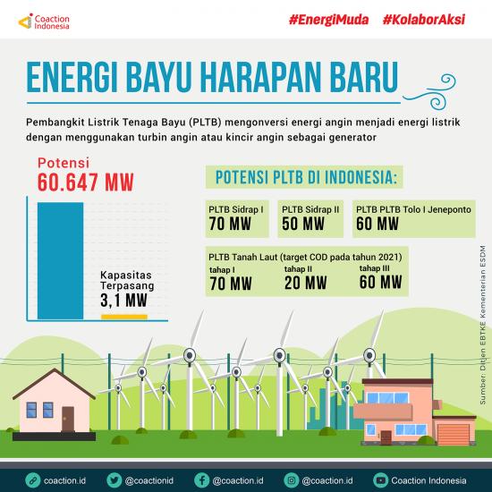 Pembangkit Listrik Tenaga Bayu: Harapan Baru untuk Energi Terbarukan Indonesia