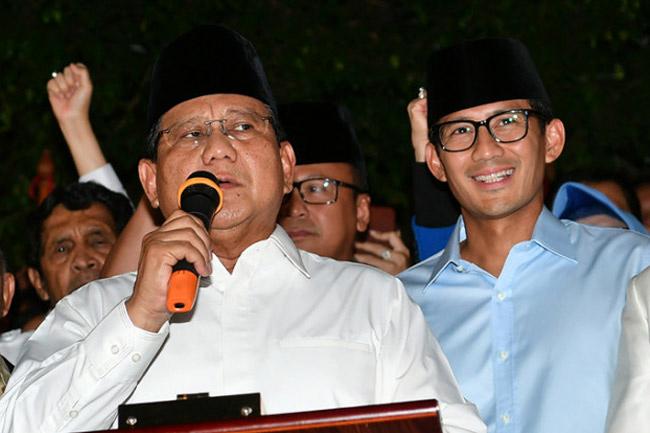 Prabowo-Sandi Dinilai Belum Punya Komitmen Kuat pada Isu Lingkungan