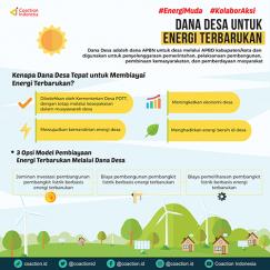 Dana Desa untuk Energi Terbarukan